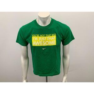 Nike I'm Just that Awesome T Shirt Boys Size L 14-